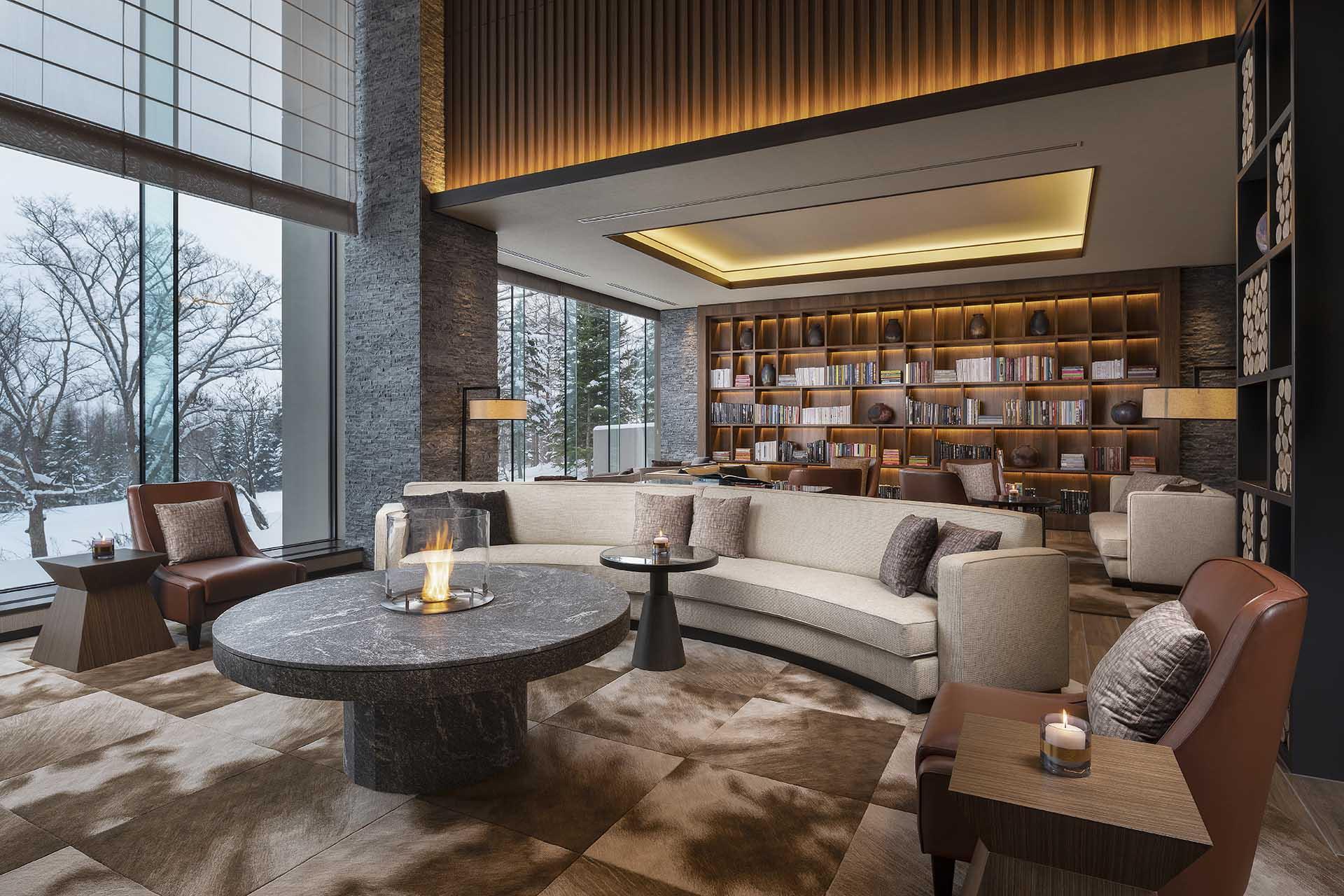 Ume Lounge Ritz Carlton Niseko
