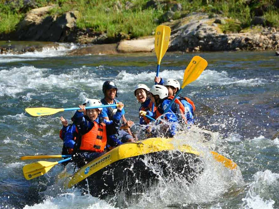 Rafting in Niseko