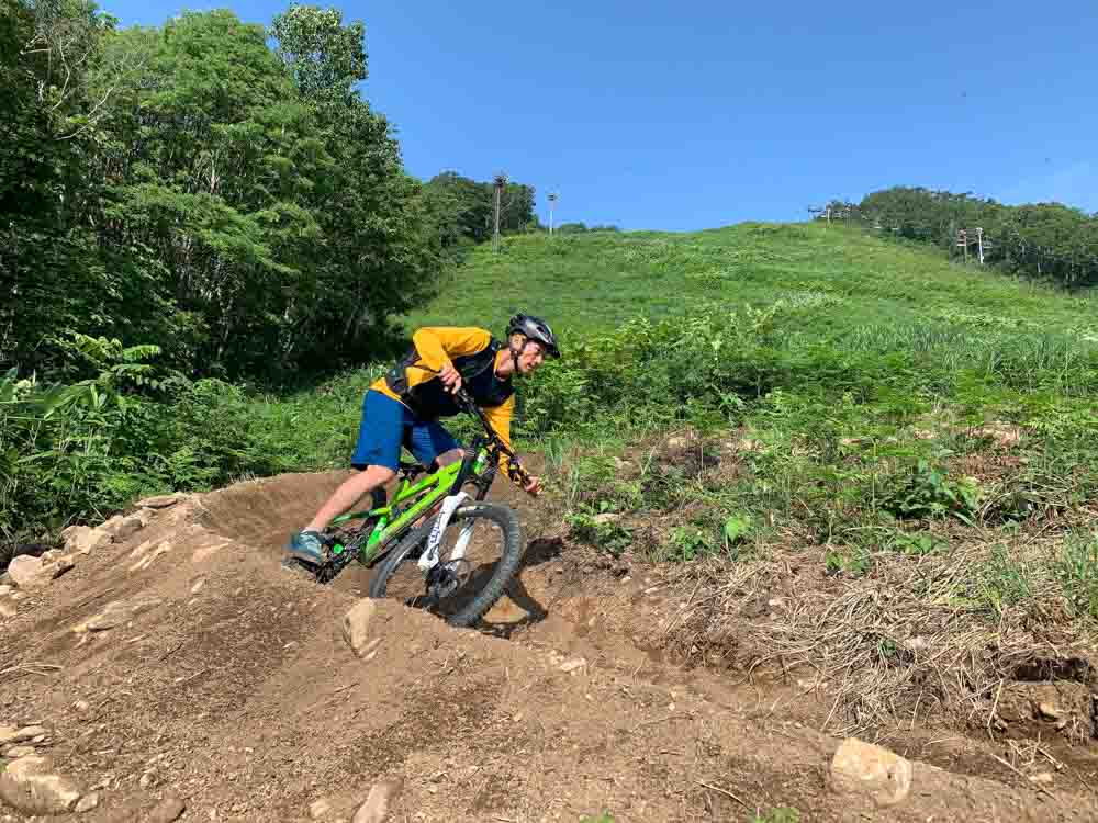 Riding trails in niseko