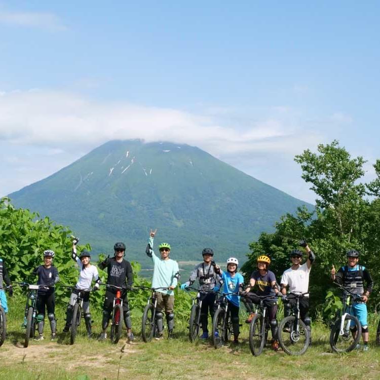 Mountain bike group