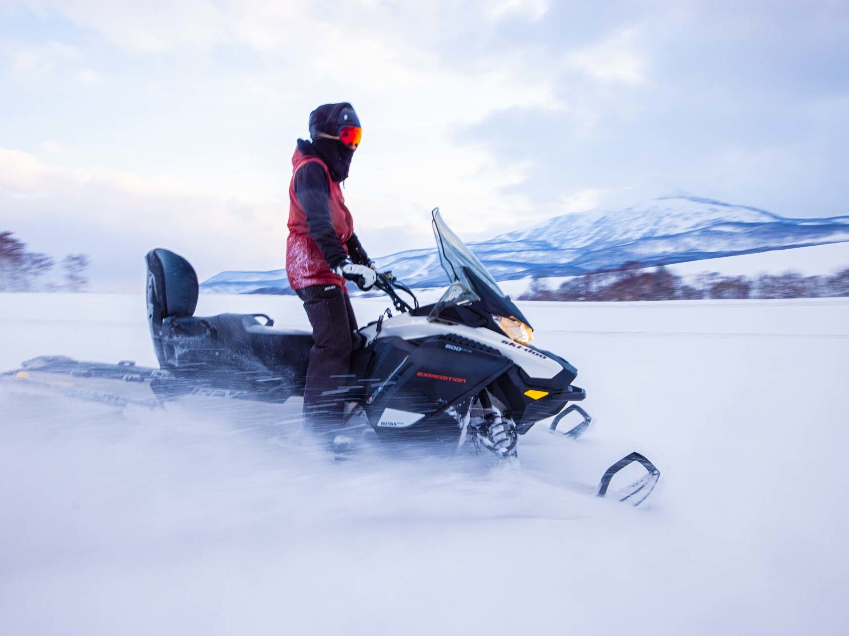Winter Activity - Snowmobiling