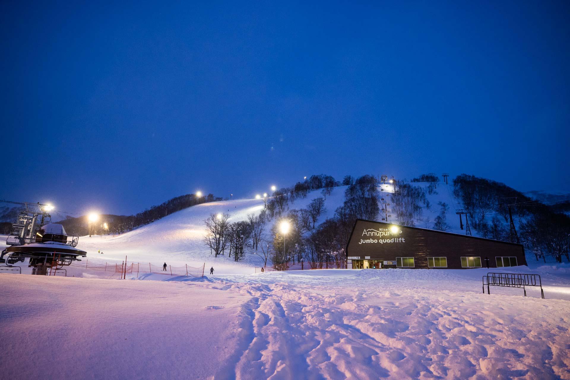 安努普利雪場