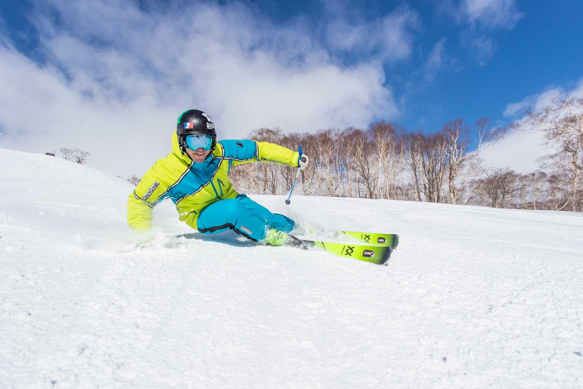Paul Lorenz Skiing
