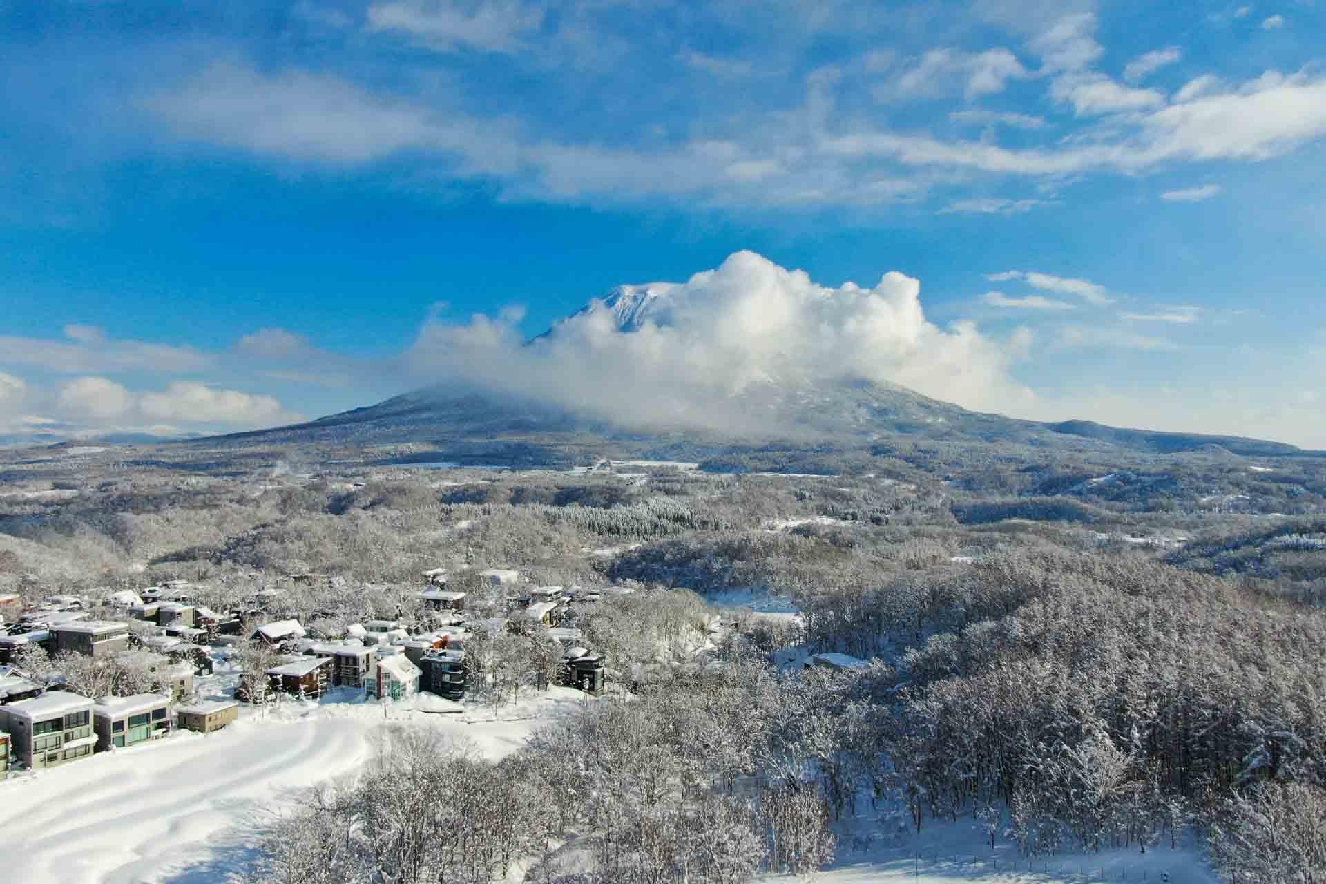 Landscape of Niseko