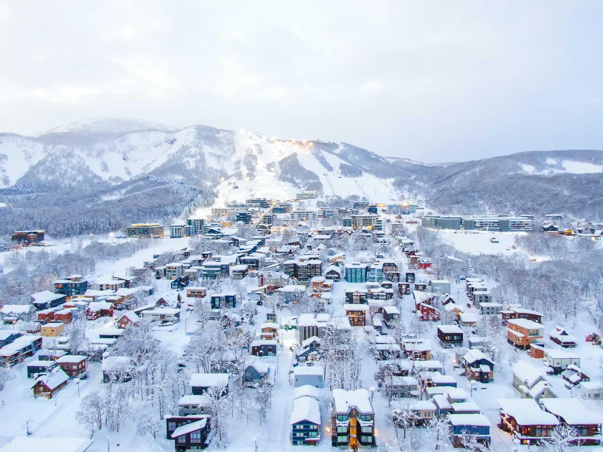 Hirafu Village Niseko
