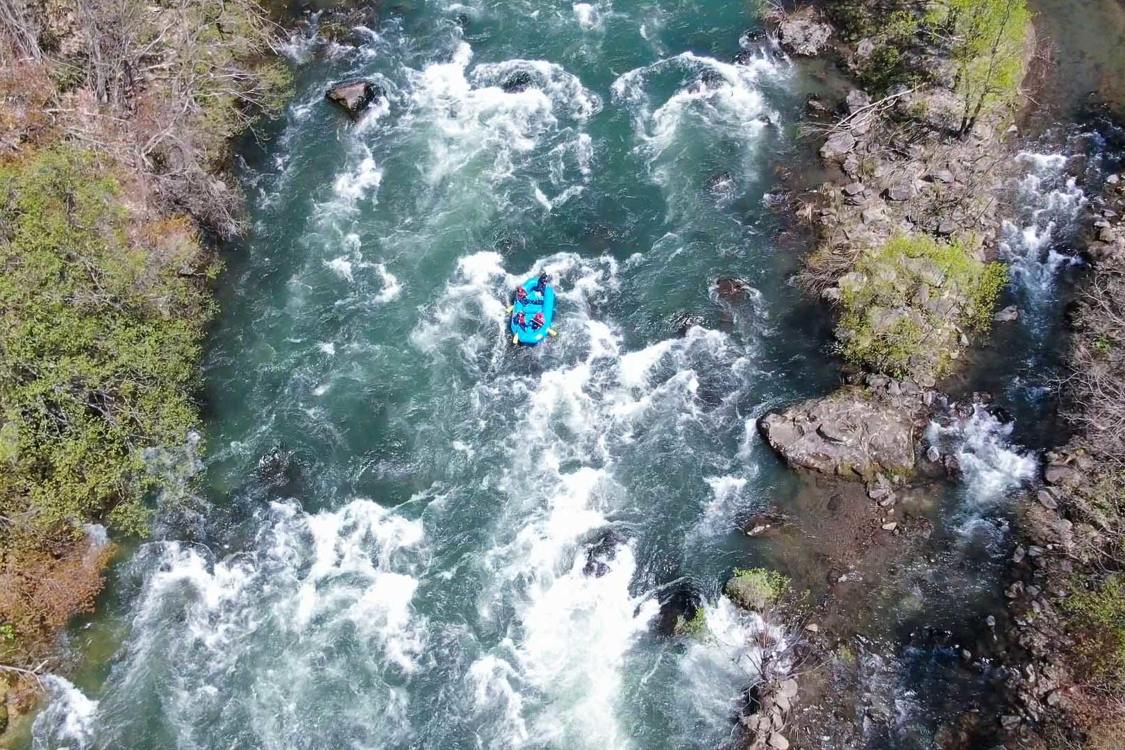 Shiribetsu River Rafting