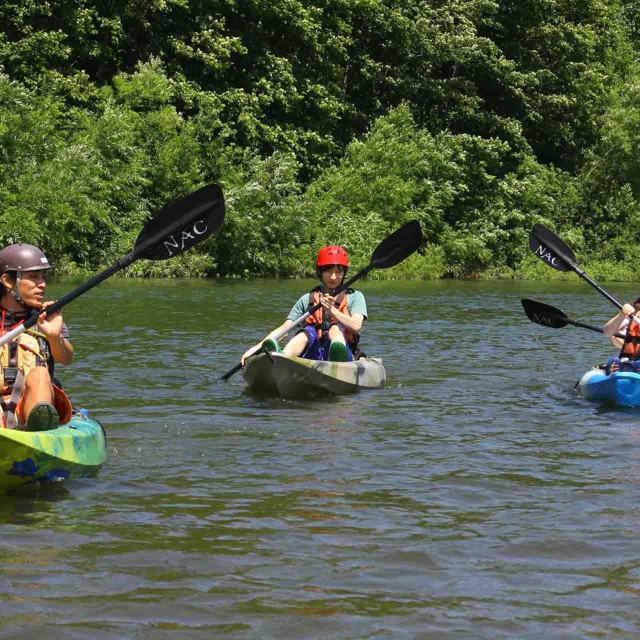 Kayaking in Niseko