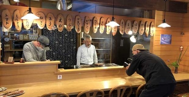Behind the scenes - filming