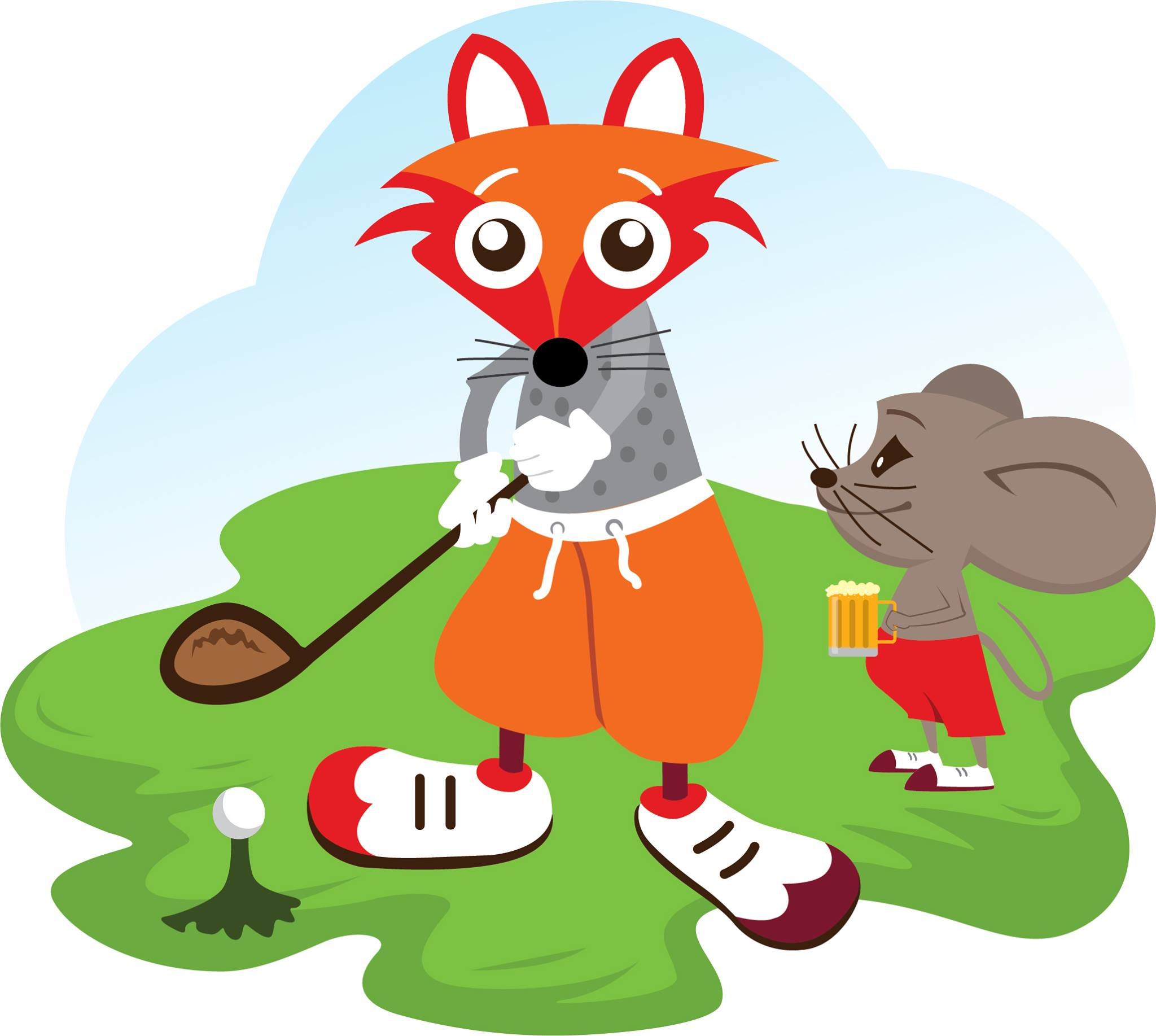 Jolly Fox Golf Competition