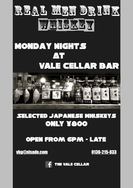 Tha Vale Cellar Bar Winter Specials