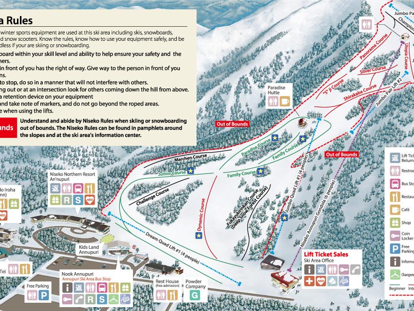 Annupuri Trail Map
