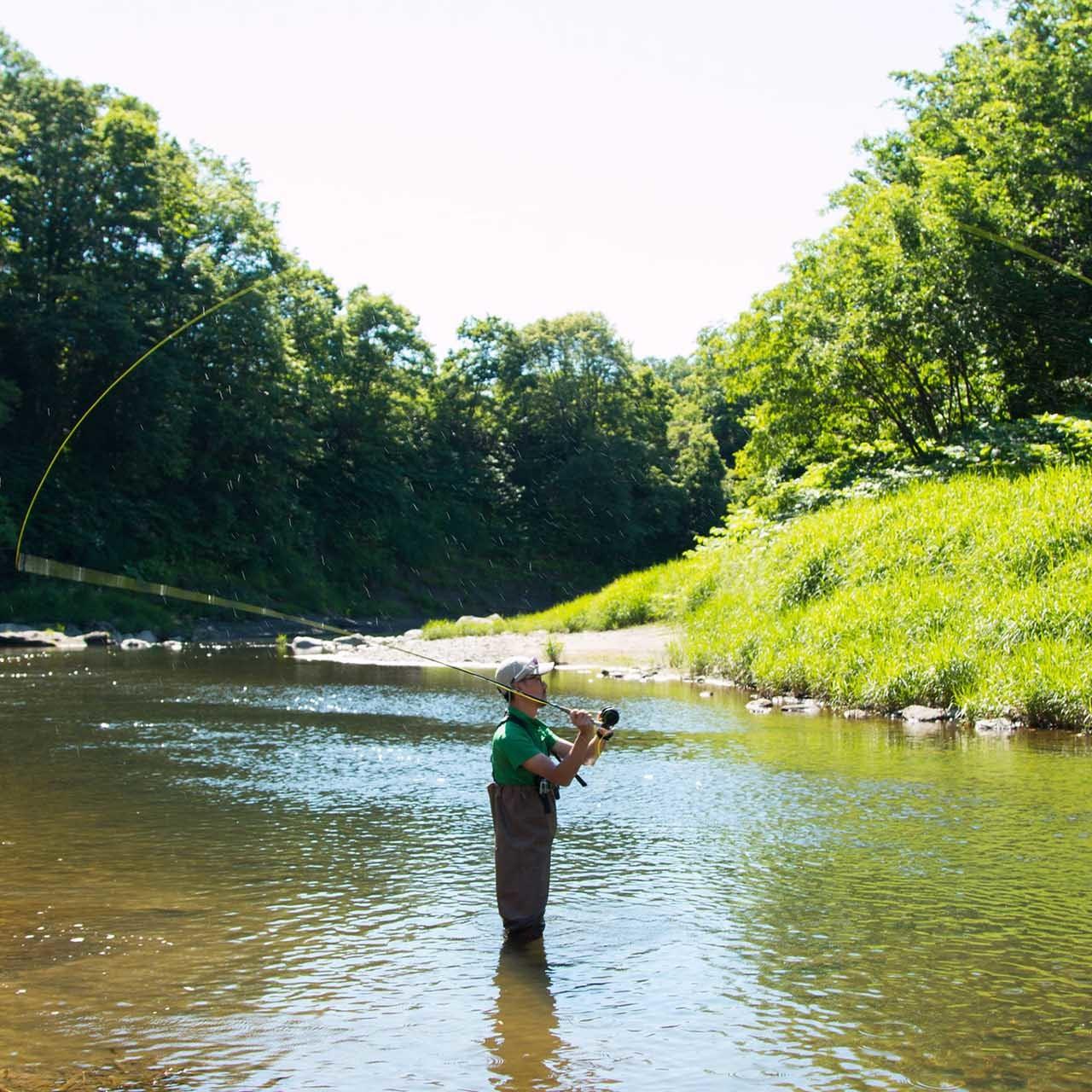 River Fishing in Niseko