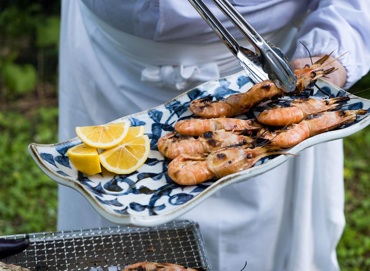 Niseko Gourmet BBQ with Prawns