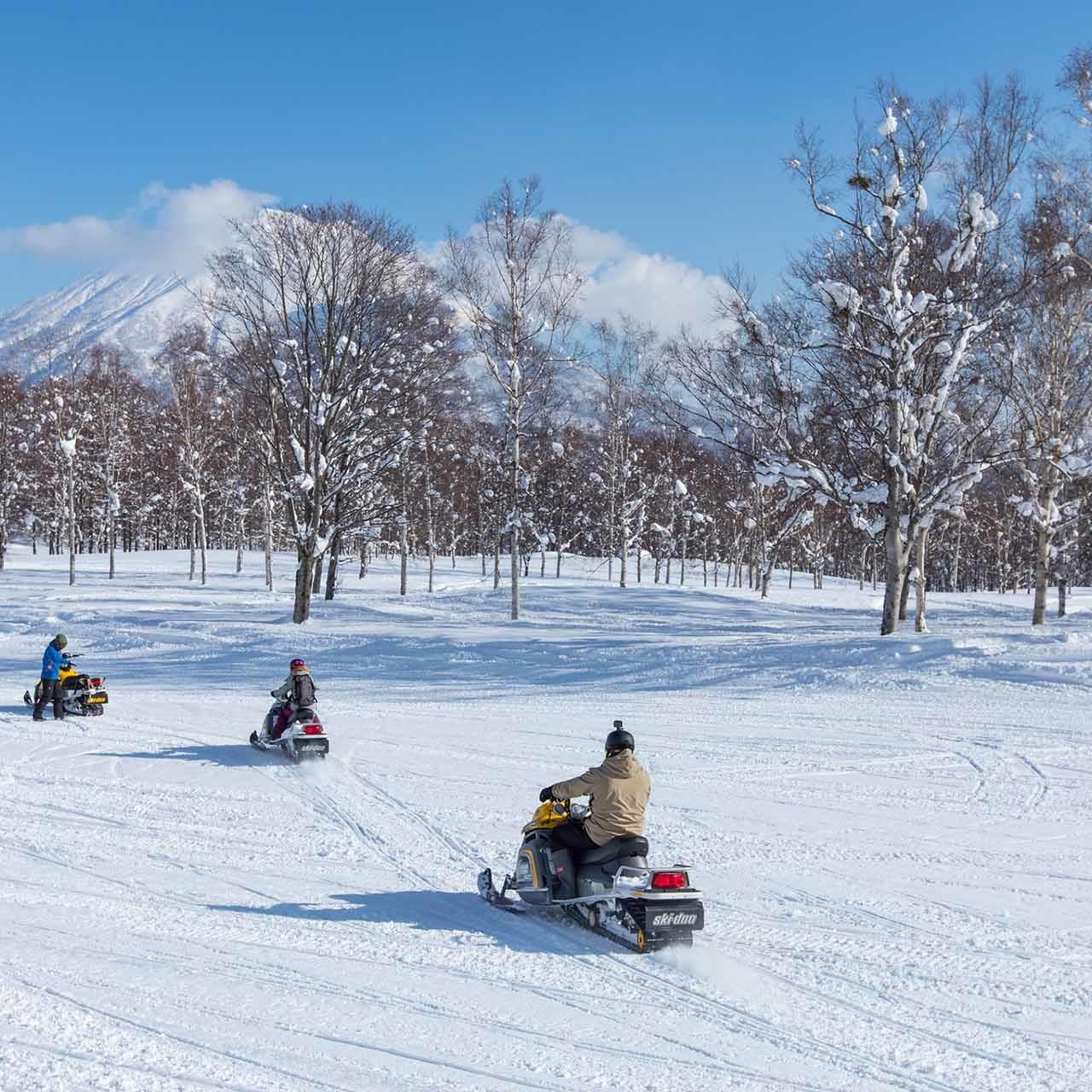 niskeo village snowmobile